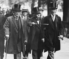 Lloyd George, George Clemenceau i Woodrow Wilson a la Conferència de París de 1919