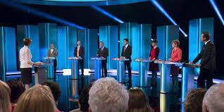 Primer y único debate electoral en Gran Bretaña
