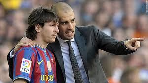Guardiola y Messi cuando protagonizaron un gran Barça