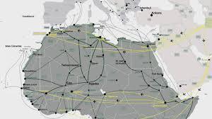 Las rutas de los que llaman a Europa vienen mayoritariamente del Sur