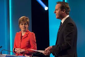 Nicola Sturgeon y David Cameron i Sturgeon,els dos grans vencedors de les eleccions britàniques