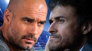 Pep Guardiola y Luis Enrique