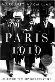 El libro de Margaret MacMillan sobre la Conferencia de Paraís de 1919