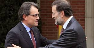 Artur Mas y Mariano Rajoy