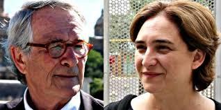 Xavier Trias y Ada Colau