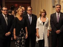 Artur Mas i els consellers que han substituït als d'Unió Democràtica