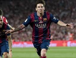 Un gol de Messi espectacular