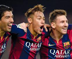 Luis Suárez, Leo Messi y Neymar jr.