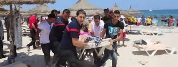 Pánico en la playa de Túnez después de los atentados