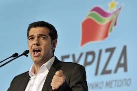 El primer ministro Alexis Tsipras, en apuros