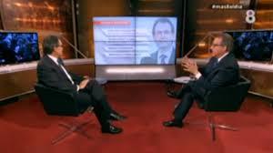 El president Artur Mas entrevistado por Josep Cuní