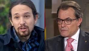 Artur Mas y Pablo Iglesias han utilizando el lenguaje de los indios de Hollywood