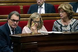 Artur Mas, Joana Ortega e Irene Rigau, convocados a declarar como imputados por el TSJC