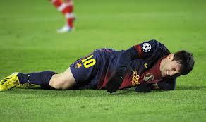 Messi, lesionado ante Las Palmas
