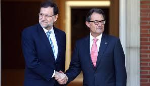 Rajoy y Mas no parecen dispuestos a buscar una solución pactada
