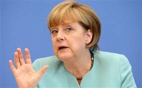 La canciller Ángela Merkel