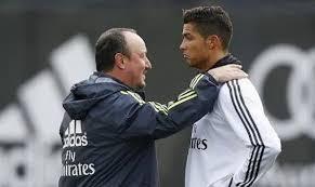 Benítez y Ronaldo, una relación que tiene que traducirse en goles