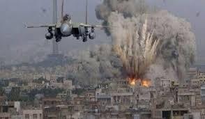 Bombardeos perpetrados sobre posiciones contraladas por el Estado Islámico