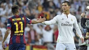 Neymnar y Ronaldo, dos iconos muy distintos