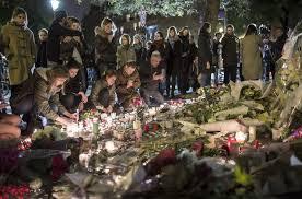 Homenaje a los caídos en los atentados gijadistas del 13 de noviembre