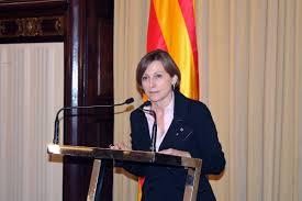 Carme Forcadell preside el primer pleno para investir a Artur Mas