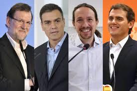 Los cuatro protagonistas para formar el próximo gobierno después de las elecciones del 20D