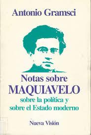 Notas de Maquiavelo escritas por Antonio Gramsci