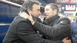 Luis Enrique y Cholo Simeone, aspirantes a ganar la Liga