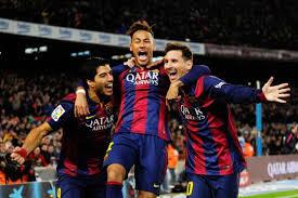 Luis Suárez, Neymar jr y Lionel Messi