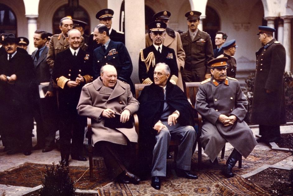 Conferencia de Yalta 1945