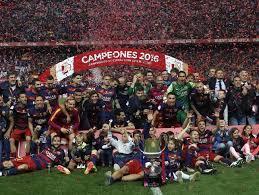 Campones de Copa 2016