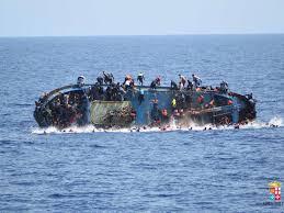 Barco de Refugiados hundido en las costas italianas hace unos días