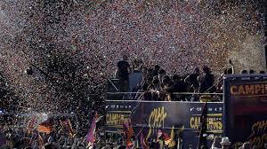 El Barça celebra el título de Liga 1916