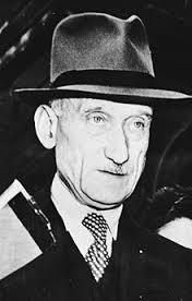 Robert Schuman, autor de la Declaración de 1950 que lleva su nombre, unos de los padres fundadores de Europa
