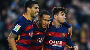 El Tridente del Barça, Suárez,Neymar y Messi, puede decidir la Liga el domingo en Granada
