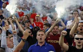 Violencia callejera tras el encuentro entre Inglaterra y Rusia