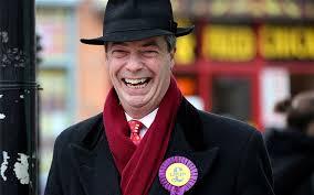 Nigel Farage, uno de los principales impulsores del Brexit, un personaje exótico, populista y xenófobo