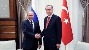 Un encuentro reciente entre Putin y Erdogan