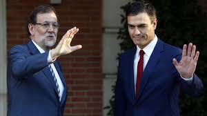 Mariano Rajoy y Pedro Sánchez no han llegado a un acuerdo para formar gobierno