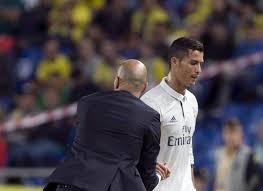 Cristiano Ronaldo sustituido por Zidane en Las Palmas. Malas vibraciones.