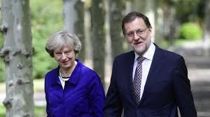 Poco se ha sabido sobre la reunión entre Mariano Rajoy y Theresa May. Estamos en funciones