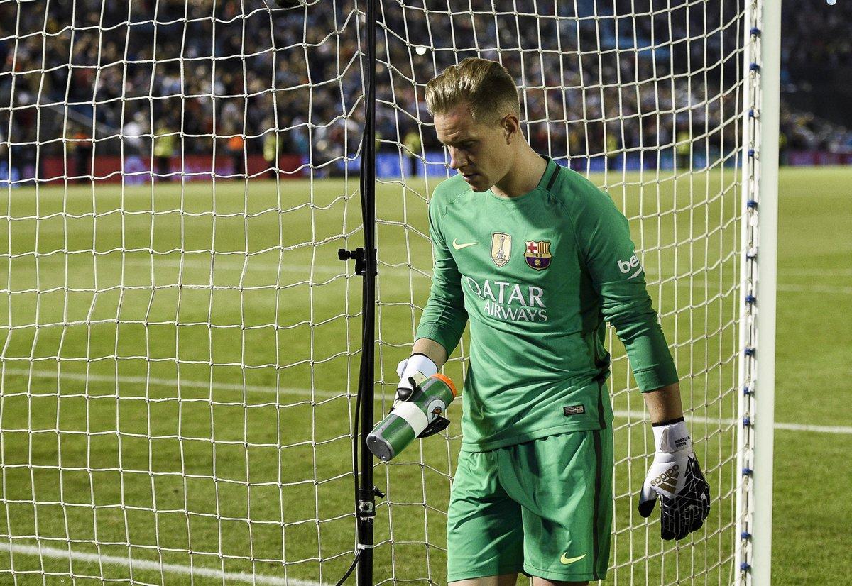 Ter Stegen se equivocó dos veces ante el Celta ocasionando dos goles y la derrota