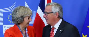 Theresa May y Jean Claude Juncker en l'última cimera europea amb el tema del Brexit com a principal preocupació de tots