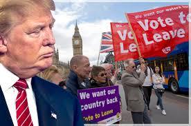 Donald Trump fue partidario del Brexit y mantuvo estrechas relaciones con Nigel Farage