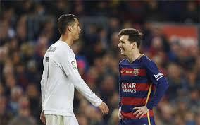 Ronaldo y Messi en el úlimo encuentro jugado en el Camp Nou