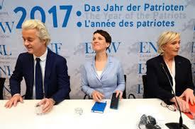 """Reunión en Coblenza de los partidos de extrema derecha europeos bajo el lena de """"2017, año de los patriotas"""""""