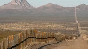 Tramo del muro entre Estados Unidos y México ya construido